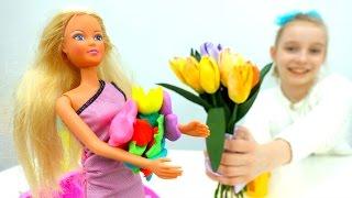 Видео для девочек — Барби и букет для Терезы - Видео про кукол