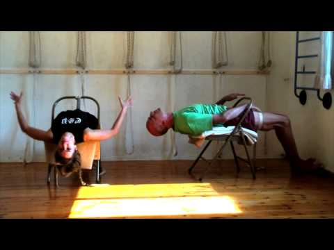 A Chair for Yoga - A complete guide to Iyengar Yoga practice with a chair