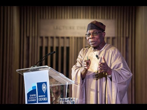 HE Chief Olusegun Obasanjo - How to drive transformational c
