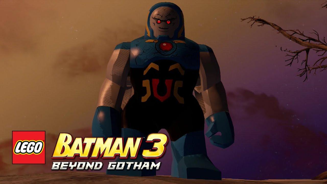LEGO Batman 3: Beyond Gotham - Darkseid Ysmault free roam ...