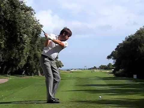 Robert Rock golf swing - YouTube
