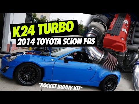 K24 TURBO ROCKET BUNNY FRS?!? PERFECT STREET CAR!!!