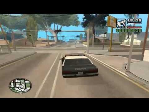 Прохождение GTA San Andreas (Крепкий орешек. Серия 1)