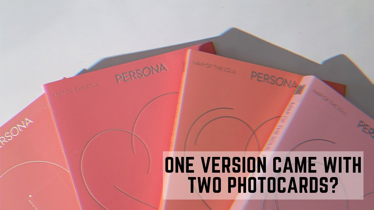 Download [UNBOXING] BTS 방탄소년단 Map of The Soul: Persona (All Versions)