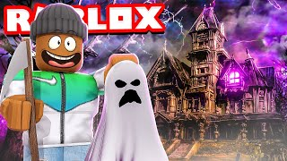 Building My Own SCARY HAUNTED HOUSE in Roblox!