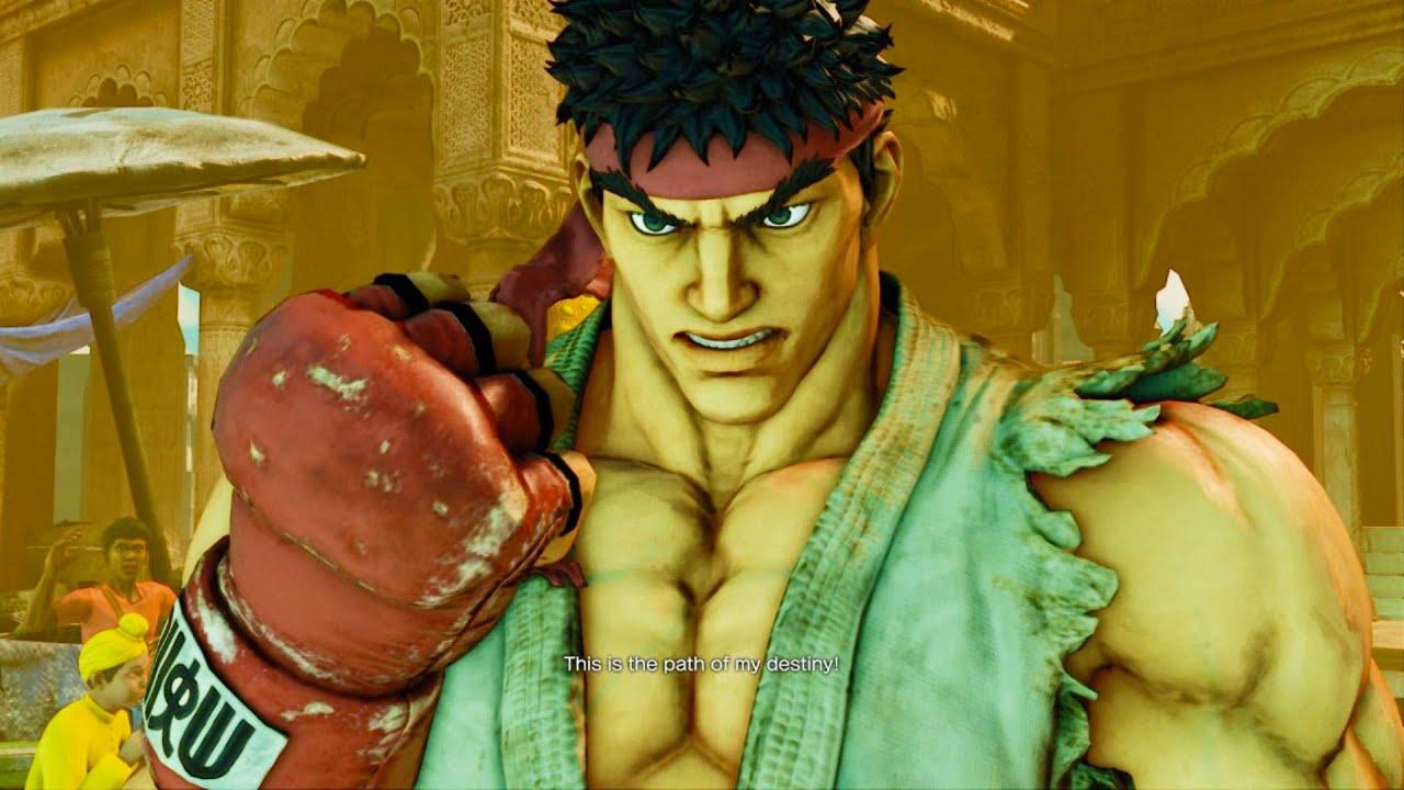Street Fighter V  Ryu Survival Arcade Ladder Gameplay