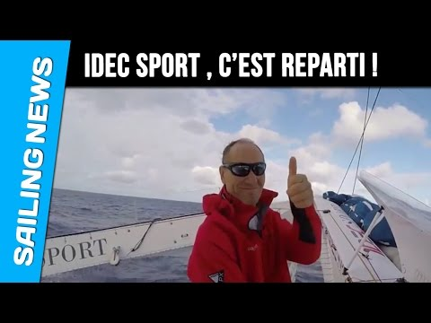 IDEC SPORT Présentation du Team - Trophée Jules Verne 2016-2017