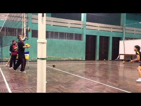 Tuyển bóng chuyền trẻ nữ Quốc gia Việt Nam 2014: Phòng thủ