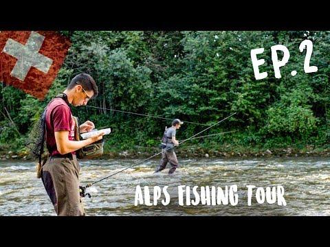 IL NOUS MONTRE UN SPOT INCROYABLE ! Alps FISHING TOUR EP2