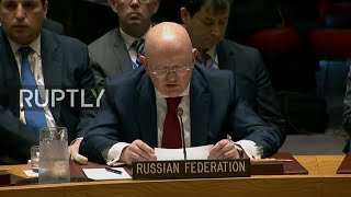 Live: UNSC holds meeting over airstrikes in Syria