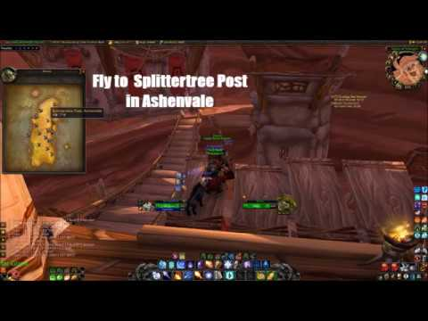 Classic Vanilla Wow Closest Moonwell For Horde Youtube