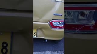 ワゴンR FX MH55S:追突事故2:新車がちゃん☆ガラになる。納車2ヶ月未満、走行2000少々なのに残念。自転車を轢かず「まだワゴンRで良かった」とも思える。