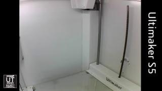 UT Maker Society 3D Printers Live Stream