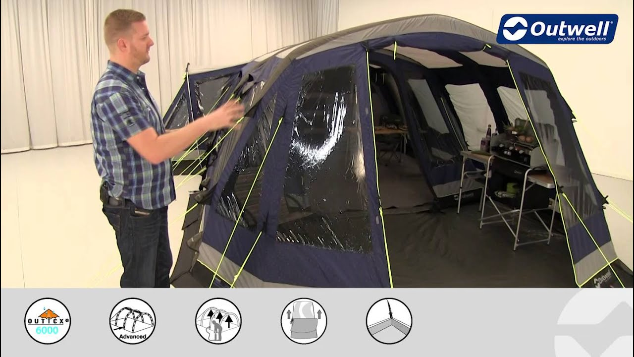 Outwell Montana 6SA Awning | Innovative Family C&ing : montana tent and awning - memphite.com