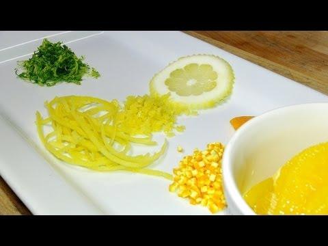 How to Zest Citrus Fruits