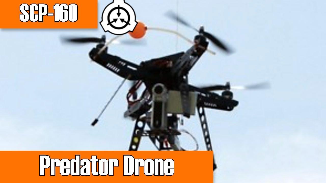 SCP-160 Predator Drone | Object class euclid | mechanical / predatory scp