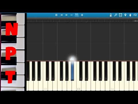 Labrinth - Jealous - Piano Tutorial - Synthesia - How to play Jealous by Labrinth on piano