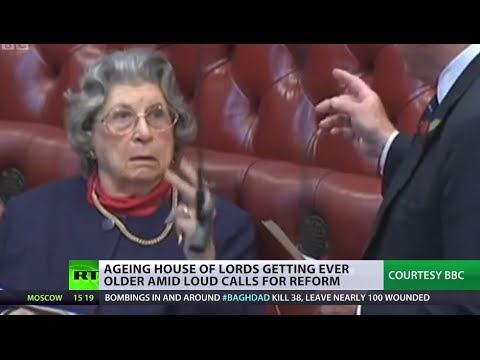 'Elderly Day-Care Center': Calls for reform as UK House of Lords ages