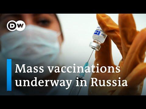 Russia kicks off mass COVID-19 vaccination program with Sputnik V   DW News