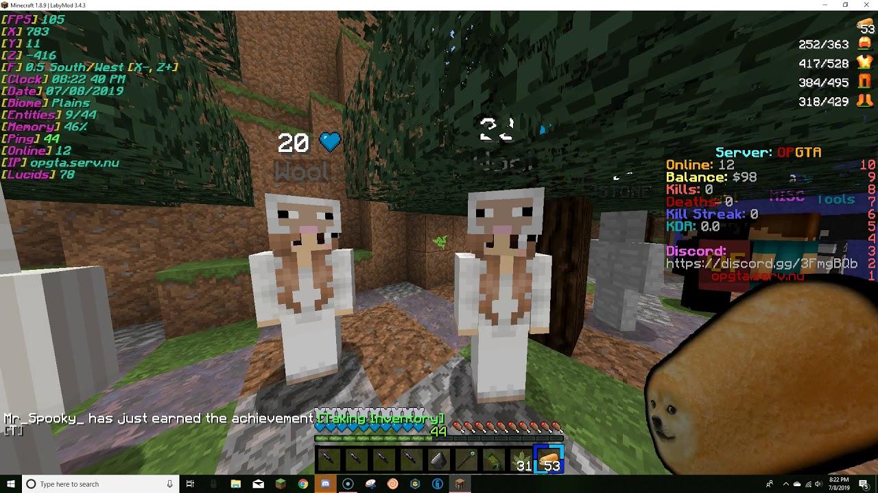 dating server Minecraft 1,9 Kettering hastighet dating