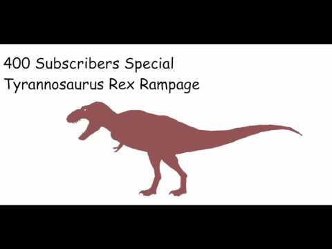 SB14FC - Tyrannosaurus Rex Rampage (400 Subscribers Special(late))