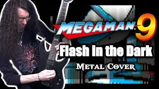 Mega Man 9 DR. WILY STAGE 1 || METAL COVER by ToxicxEternity (Flash in the Dark)