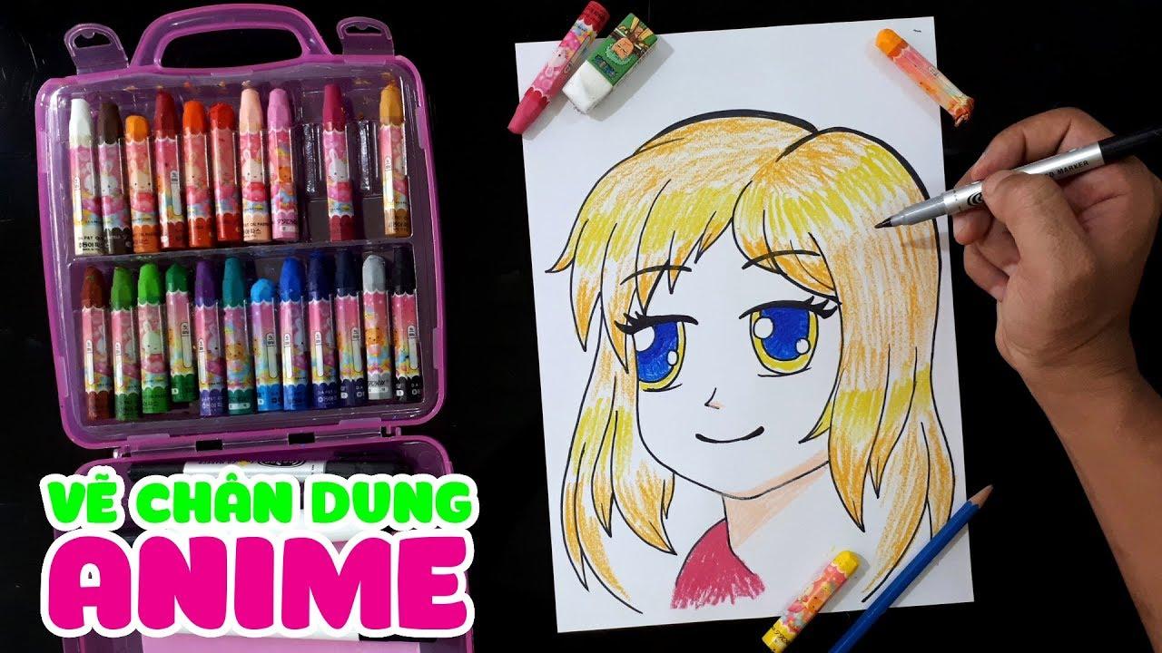 Dạy vẽ chân dung nhân vật Anime || How To Draw Anime Face