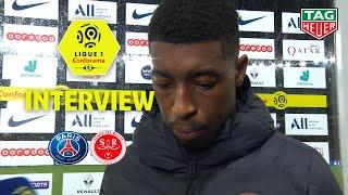 Interview de fin de match :Paris Saint-Germain - Stade de Reims ( 0-2 ) / 2019-20