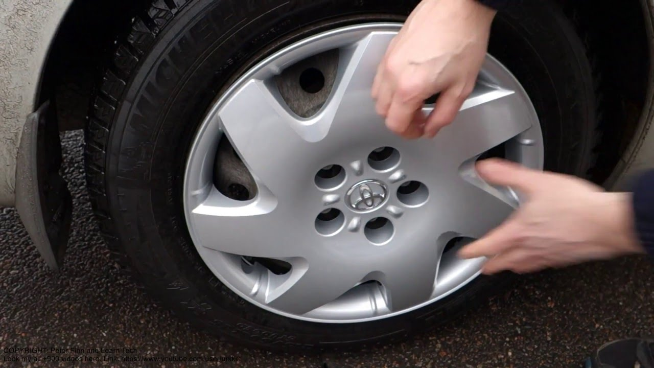 small resolution of how to get new toyota camry wheel cover