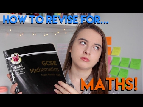 HOW TO REVISE: MATHS! | GCSE and General Tips and Tricks!