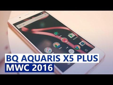 BQ Aquaris X5 Plus na MWC em português