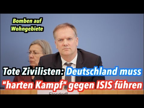 Bundesregierung weiß noch nichts von toten Zivilisten mit deutscher Beteiligung