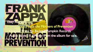Ebay -  Frank Zappa Meets the Mothers of Prevention