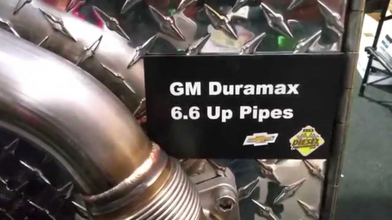Duramax Turbo to    Manifold    Uppipes  YouTube