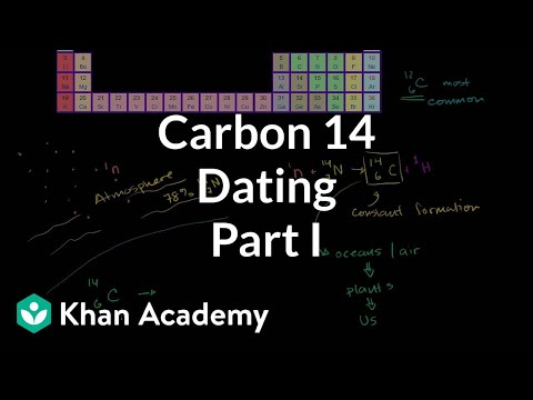 Carbon 14 dating 1 | Life on earth and in the universe | Cosmology & Astronomy | Khan Academy