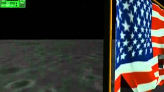 Orbiter ( AMSO) Apollo program part 4 : Moonwalk