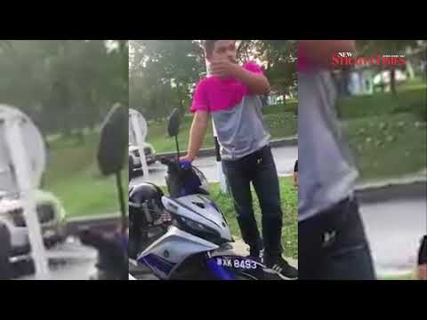 Foodpanda rider assaulted following traffic accident in Bandar Utama
