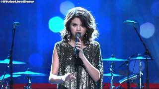 selena gomez a year without rain live 2010 hd