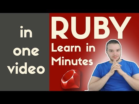 Ruby Programming | In One Video