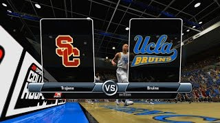College Hoops 2k8 - Lonzo Ball (2016-17 roster link in description PS3 & X360)