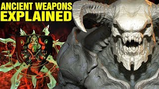 DOOM: ORIGINS - ANCIENT MARTIAN WEAPONS SOUL CUBE EXPLAINED - PRAELEANTHOR