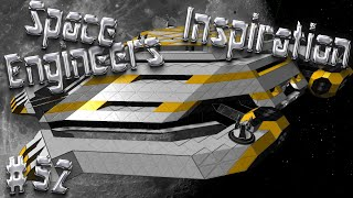 Space Engineers Inspiration - Episode 52: Auroras Yacht, War Angel, & Khepri