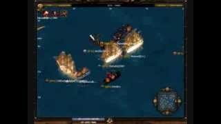 Seafight GB1 - Isw vs  Pirates of the new millenium & Pirates of Hell ///////// Roronoa