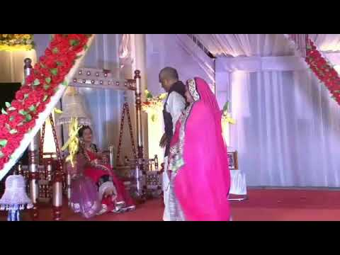 Neha mahila sangeet in parents performance[bago ke har phool ko apna samjhe baghban  ]