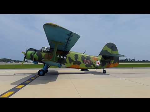 Korean People's Army Air Force Antonov An-2 Flight, Wonsan Air Festival 2016, DPRK