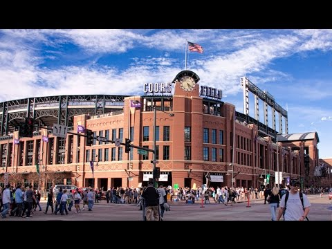 First Visit to Coors Field - Clip from - Colorado Trip Vlog: Philadelphia to Denver