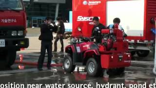 ATV Demo all terrain vehicle firefighting vehicle