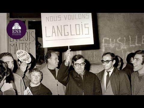 Histoire de la Cinémathèque française - Henri Langlois à l'École normale supérieure en 1955