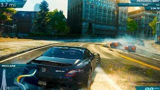 NEED FOR SPEED MOST WANTED 2012 || MERCEDES BENZ REVIEW