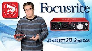 focusrite scarlett 2i2 2nd gen обновленная и самая популярная для домашней записи звуковая карта